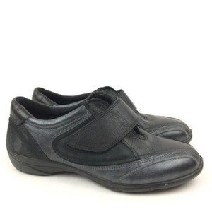 New Ecco Fashion Sneakers Sz 37 6-6.5 Leather